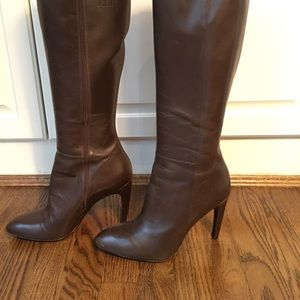 Via Spiga Brown leather boots size 9